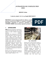 Generarea Suprafetelor Complexe Prin EDM Hreniuc Stefan