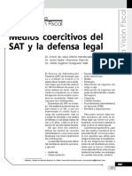 Medios Coercitivos Del SAT y La Defensa Legal