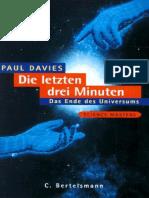 (German) Davies, Paul - Die Letzten Drei Minuten - Das Ende Des Universums (Science.cosmology)