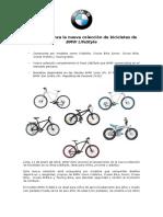 NP Lanzamiento Bicicletas BMW