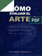 Como Evaluar El Arte. Luis Errazuriz