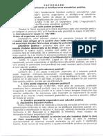 Informare privind organizarea și desfășurarea adunărilor publice