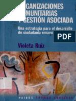 Violeta Ruiz Organizacioes Comunitarias