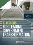 GOV Leadership Forum Presentation - Accenture Handbook 2015-2016