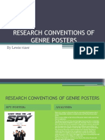 Task 6 - Research Conventions of Genre Posters
