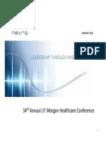 Nevro #JPM16 Presentation