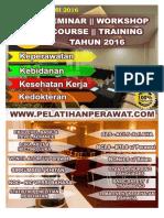 Katalog Event Seminar, Workshop, Training Kesehatan Tahun 2016