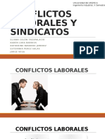 Conflictos Laborales y Sindicatos