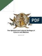 The Spiritual and Cultural Heritage of Kosovo and Metohia