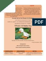 Informe Titeres Patito Feo