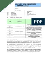 29073867 Unidades de Aprendizaje de Matematica i e Nº 109 Inca Manco Capac Ugel 05 Subdirector Hugo Bautista