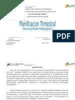 Planificacion Pedagogico EniD 2014-2015 Carta