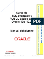 Curso Oracle PLSQL