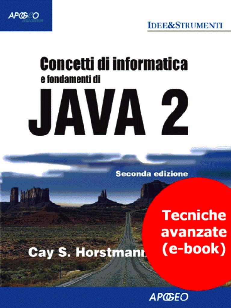 Albero Di Natale Java.Concetti Di Informatica E Fondamenti Di Java 2 Tecniche Avanzate