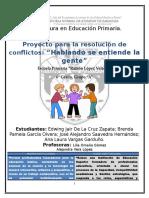 Proyeco Resolucion de Conflictos Ramon Lopez