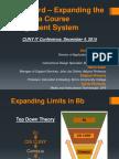 CUNY IT Presentation - Blackboard Expanding the Limits of a Course Managment System - Caprioglio, Cruz, Keier, Powers, Richards