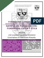 Ejemplo de Planificación de F C y E