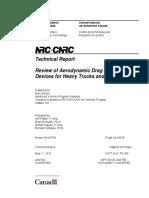 Aerodynamics Report-may 2012