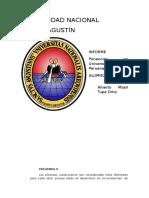 Informe 2- UNSA