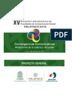 1-Proyecto General-xv Encuentro Felafacs 2015