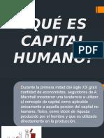 Qué Es Capital Humano