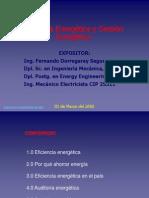 Se realizó Curso-Taller sobre Eficiencia Energética y uso de motores y transformadores de alta Eficiencia para ingenieros habilitados del Capítulo de Ingeniería Eléctrica - Ing. f. Dorregaray