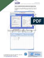 Estacion Total GPT-3200NW_Importacion de Archivos Excel