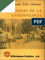 Elogio a La Antropología - Claude Lévi-Strauss