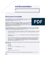 Enhancements Using BAdIs