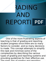 Grading and Reporting