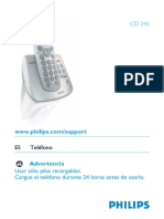 Telefono Phillips Cd2453b 57 Dfu ASP