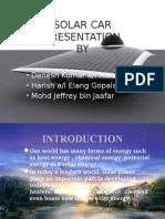 Powerpoint Solar Car