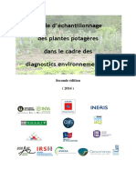 Guide Echantillonnage Plantes Potageres Avril 2014