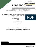 Sistema de Fuerza y Control