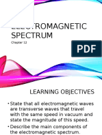 chapter 12 - electromagnetic spectrum