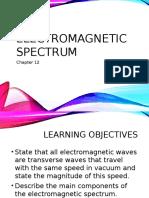 chapter 12 - electromagnetic spectrum