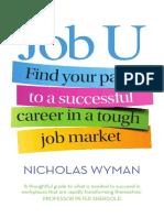 Job U by Nicholas Wyman (Extract)
