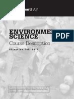 AP Environmental Science Sample Exam