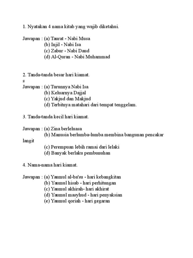 Soalan Ulum Syariah Upkk