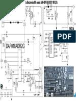 Delta Electronics INC Model ADP-40PH BB OUT 19V-2,1A