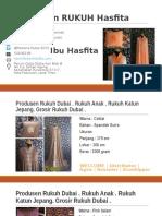 1.+62.822.4040.9293 (Telkomsel) Grosir Rukuh Model Baru Mukena Dubai Hasfita
