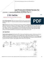 GSM Interfaces and Protocols (Global System for Mobile Communication (GSM)) Part 1