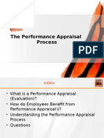 Performance Appraisal Presentation 2015