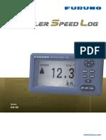 DS-80 Doppler Speed log