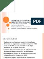 Diarrea crónica en paciente con VIH