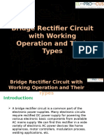Bridge Rectifier Circuit with Working Operation and Their Types.pptx