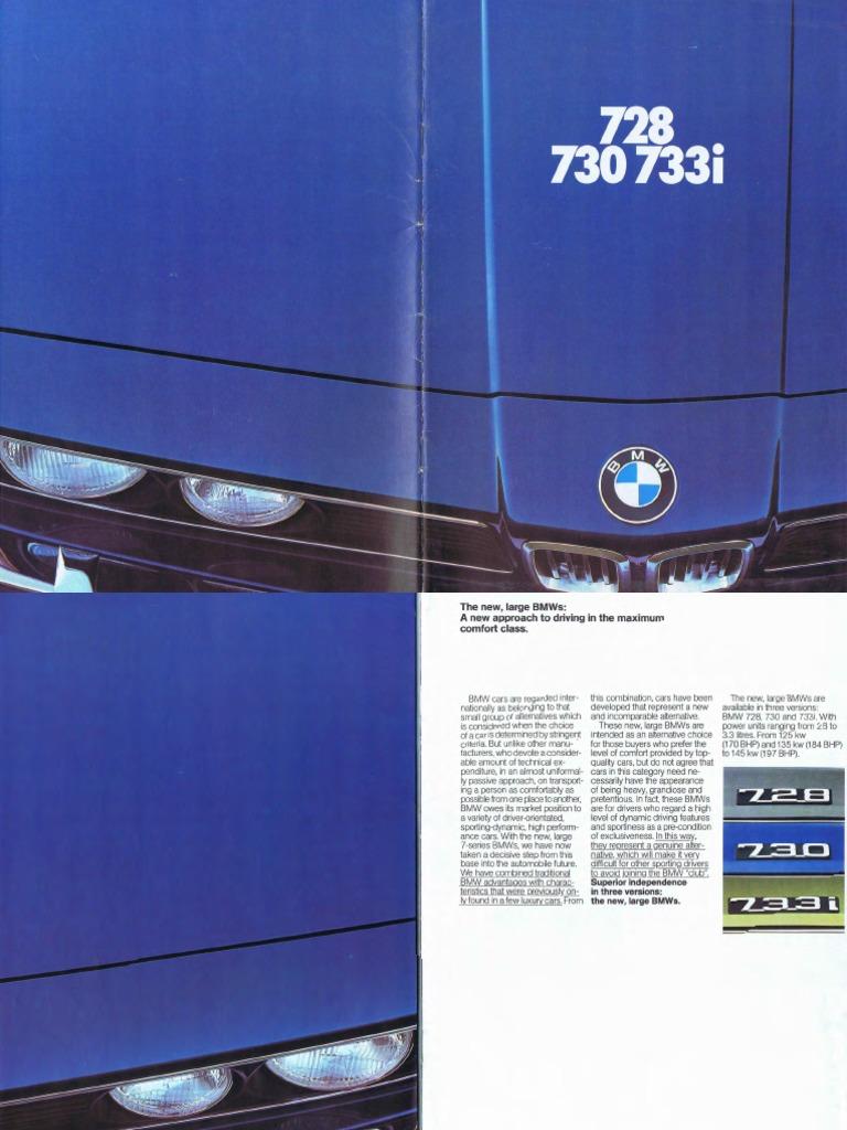 BMW E23 | Engines | Automatic Transmission
