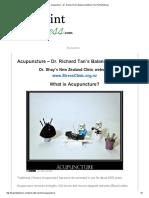 Acupuncture – Dr