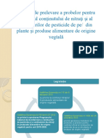 Prezentare Metode de Prelevare Pesticide Si Nitrati