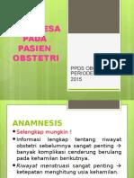Anamnesa Obstetri NAS